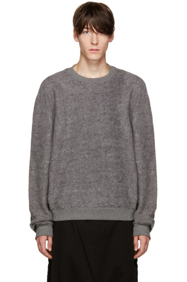 D by D - Grey Oversized Pullover