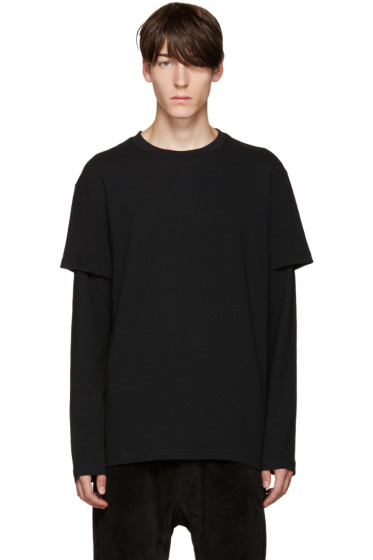D by D - Black Layered T-Shirt