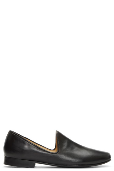 Lemaire - Black Soft Loafers