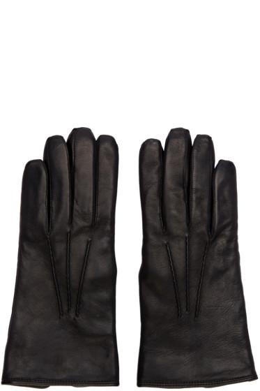 Lemaire - Black Lambskin Gloves