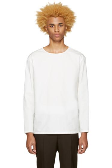 Lemaire - White Poplin Shirt