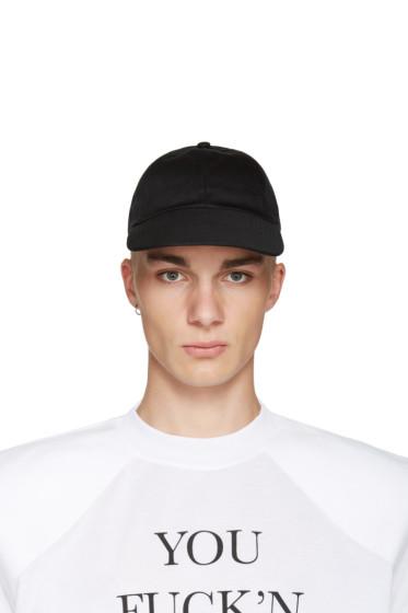 Vetements - Black Logo Tour Cap