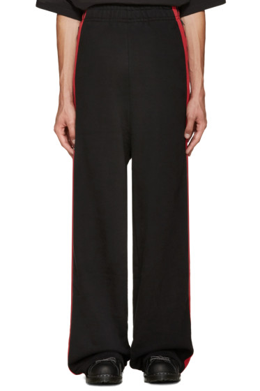 Vetements - Black Oversized Lounge Pants