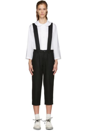 Comme des Garçons Girl - Black Suspender Trousers