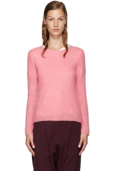 Comme des Garçons Girl - Pink Mohair Sweater