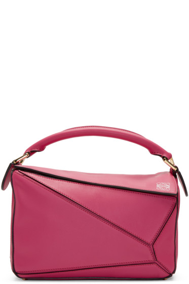Loewe - Pink Small Puzzle Bag