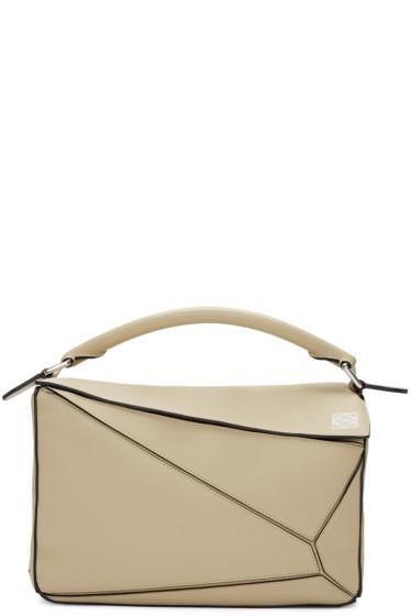 Loewe - Beige Small Puzzle Bag