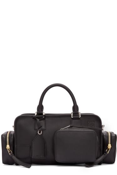 Loewe - Black Amazona 28 Pockets Bag