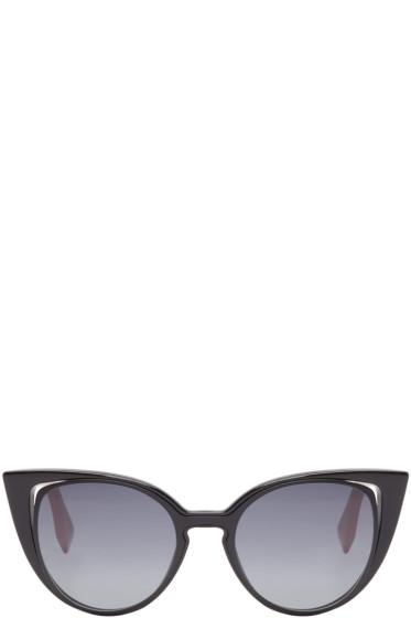 Fendi - Black Cat-Eye Sunglasses