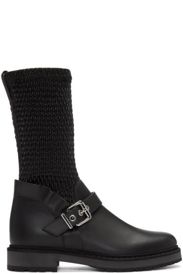 Fendi - Black Waves Boots