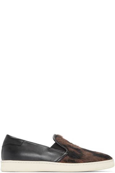 Palm Angels - Black Baronetto Slip-On Sneakers