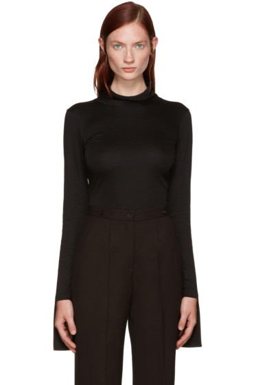 Aalto - Black Cotton Turtleneck