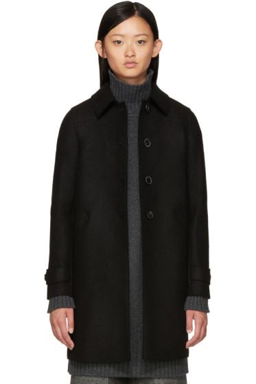 Harris Wharf London - Black Wool Coat