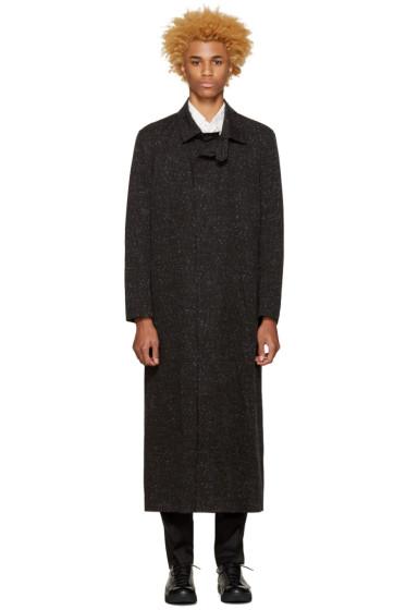 Issey Miyake Men - Grey Printed Coat