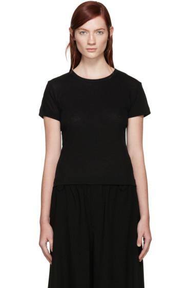 Y's - Black Jersey T-Shirt