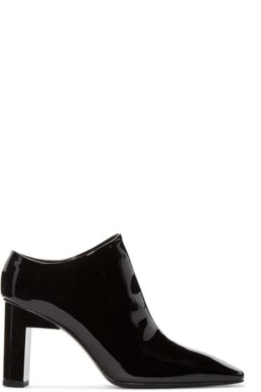 Alyx - Black Square Toe Heels