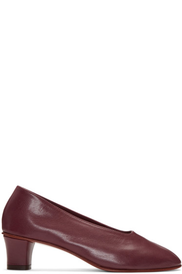 Martiniano - Burgundy High Glove Heels