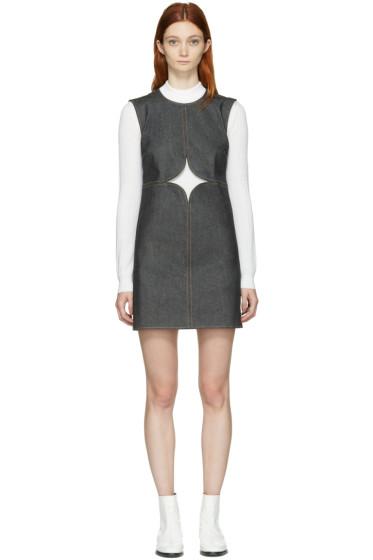Courrèges - Indigo Denim Cut-Out Dress