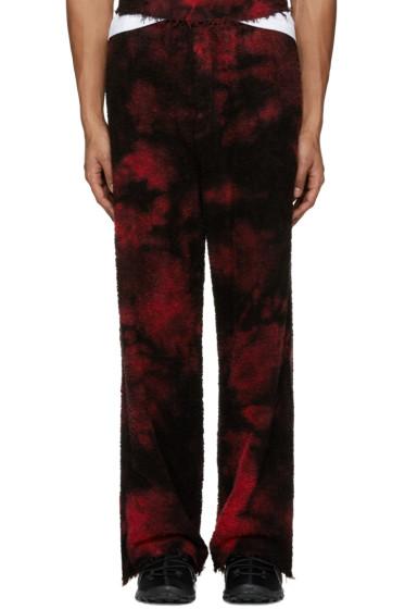 Haal - SSENSE Exclusive Red Borealis Lounge Pants