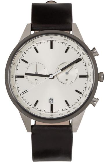 Uniform Wares - Silver & Gunmetal C41 Watch