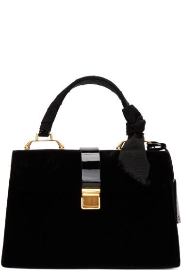 Miu Miu - Black Velvet Duffle Bag