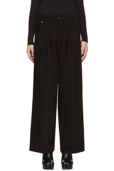 Bless - Black Ultrawide Trousers