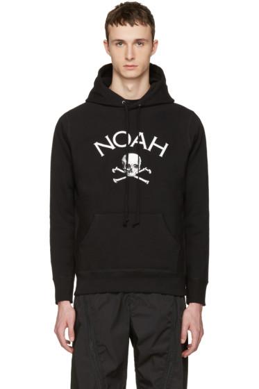 Noah NYC - Black Jolly Roger Hoodie