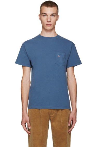 Noah NYC - Blue Pocket T-Shirt