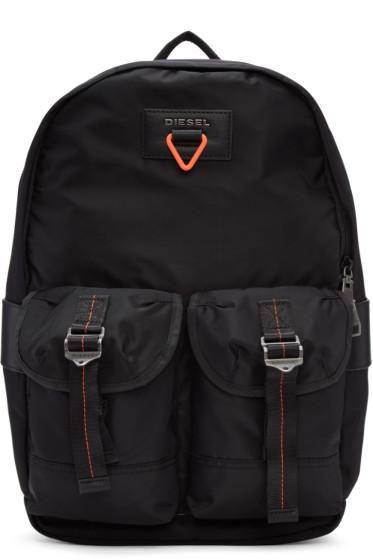 Diesel - Black F-Cross Backpack