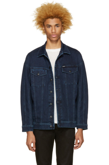 Diesel - Blue Denim D-Sout Oversized Jacket