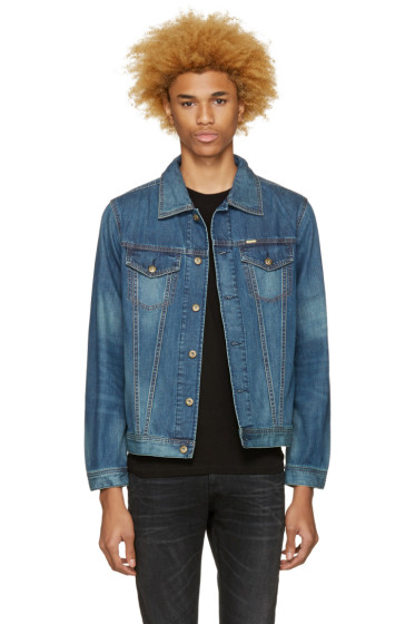 Diesel - Indigo Denim Nhill Jacket