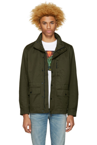 Diesel - Green J-Wines Jacket