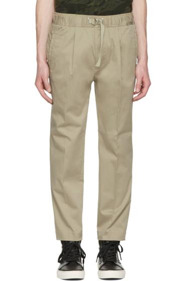 Diesel - Beige P-Pollack Drawstring Trousers