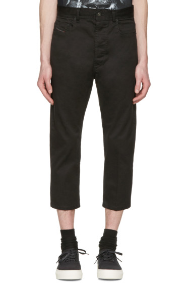Diesel - Black D-Brad-A Trousers