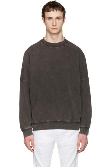 Diesel - Black S-Kalb Pullover