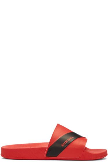 Diesel - Red Sa-Maral Sandals