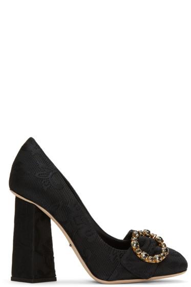 Dolce & Gabbana - Black Jackie Heels