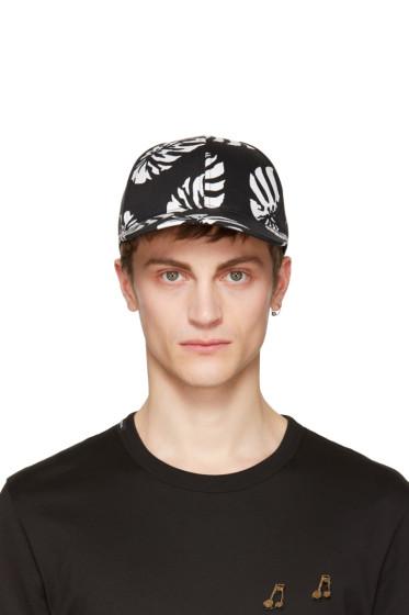 Dolce & Gabbana -  Black Leaf Cap
