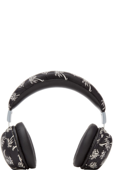 Dolce & Gabbana - ブラック パーム ツリー ヘッドホン
