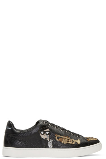 Dolce & Gabbana - Black Sax Designers Sneakers
