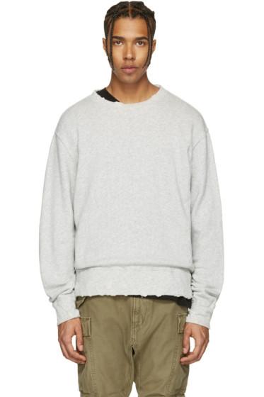 R13 - Grey Vintage Sweatshirt