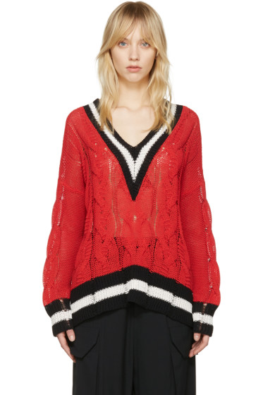 Rag & Bone - Red Emma Sweater