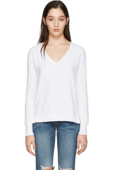 Rag & Bone - White Taylor Sweater