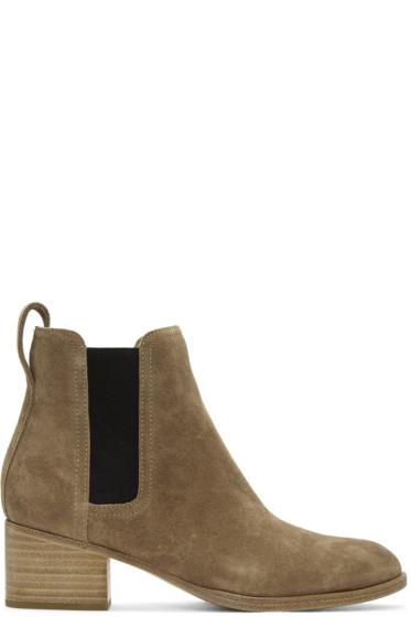 Rag & Bone - Brown Suede Walker Boots