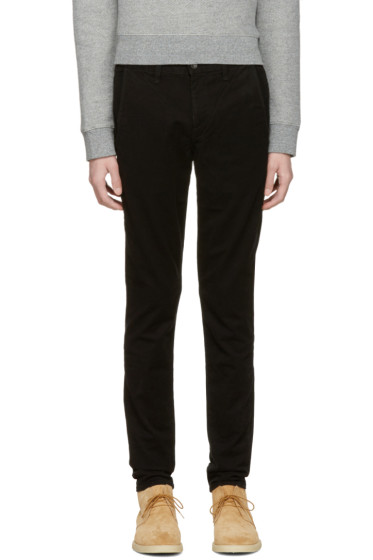 Rag & Bone - Black Fit 1 Chino Trousers