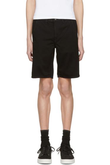 Rag & Bone - Black Standard Issue Shorts