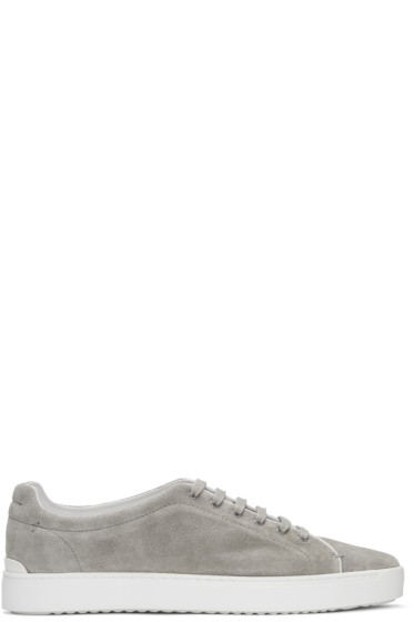 Rag & Bone - Grey Suede Kent Sneakers