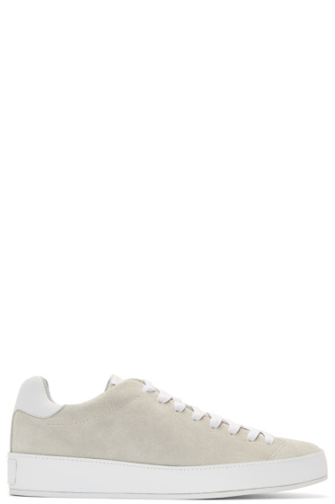 Rag & Bone - Grey Suede RB1 Low Sneakers