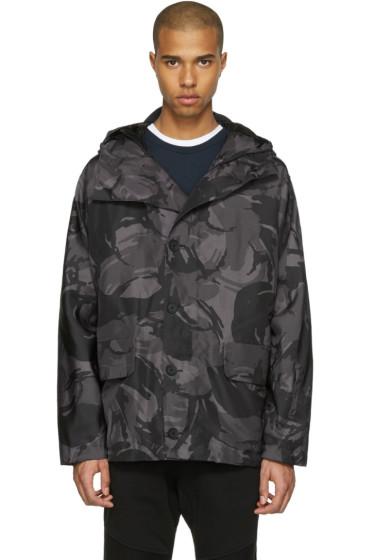 Belstaff - Grey Sophnet Edition Camo Jacket