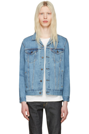 Levi's - ブルー デニム トラッカー ジャケット